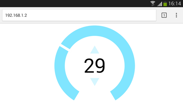 Interactive Web-based UI - Espruino