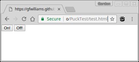 Using Web Bluetooth with Espruino