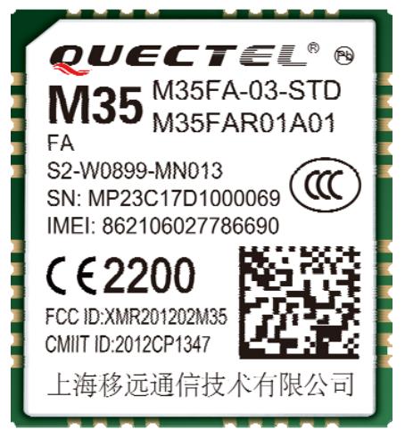 Quectel M35 Quad-band GSM/GPRS module Module - Espruino