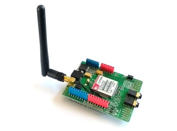 Arduino GPRS/GSM shield (SIM900) - Espruino